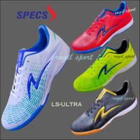 sepatu futsal specs ultra illuzion super simic 4 warna - Putih, 38