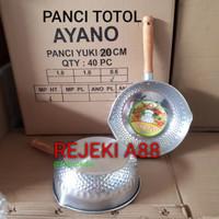 panci susu aluminium ayano totol 20cm / panci masak mie/panci ayano