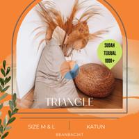 Bean bag Triangle size L - Termasuk isi (CLEARANCE SALE)