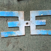 letter sepeda electrohale plate sign asesories continental lowrider