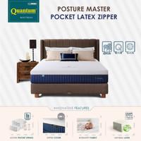 Quantum Kasur Orthopedic Posture Master Pocket Latex Zipper