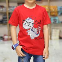 Baju kaos anak laki laki karakter HEWAN GAMBAR ANIMALS DINOSAURUS DINO