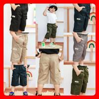 celana anak pendek cargo laki-laki 1-5th terlaris termurah cod - 1
