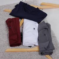 [ PROMO Paket 4 Pcs ] Kaos Polos Cotton Combed 30S Bebas Pilih Warna - Tulis di Note, M