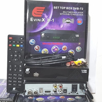 TV Digital DVB-T2 Evinix Set Top Box