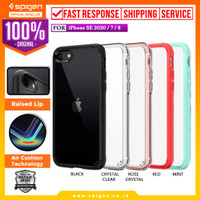 Case iPhone SE 2020 / 8 / 7 Spigen Ultra Hybrid 2 Anti Crack Casing