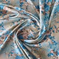 Kain sifon fine motif bunga lebar kain 1.15 m - VARIAN 1