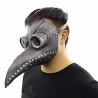 Topeng Burung Latex Plague Bird Doctor Halloween Mask