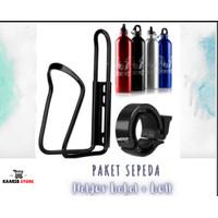 holder botol minum sepeda/paket sepeda/bell sepda
