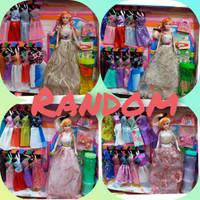 Hot Promo boneka barbie + 10 baju dan bermacam aneka varian - 1