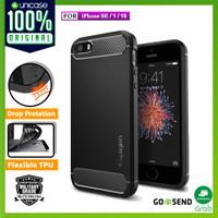 Spigen iPhone SE/5S/5 Case Rugged Armor - Black