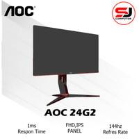 Monitor LED Gaming AOC 24G2 24 IPS 1080P 144hz 1ms VGA HDMI DP