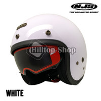 Helm Bogo Retro NJS NX-2 Solid Double Visor + Free Pet