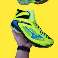 Sepatu Volly Pria Mizuno Wave Lightning Premium Original Voli Green - 40