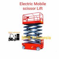 electric mobile scissor lift