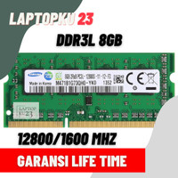 RAM LAPTOP DDR3L / PC3L 8GB SAMSUNG 1600Mhz PC12800 SODIMM 1.35V DDR3