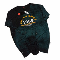 SF151 Baju Kaos Distro Quiksilver Premium Surfing Fullprint Murah