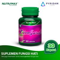 Nutrimax Livo Gard untuk Kesehatan Fungsi Liver / Hati @ 30 Kapsul