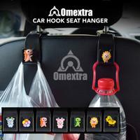 Omextra Hook Car Hanger Gantungan Jok Mobil Headrest Seat Hanger Tas