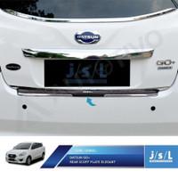 Sillplate Belakang Datsun Go Model Elegant Rear Scuff Plate