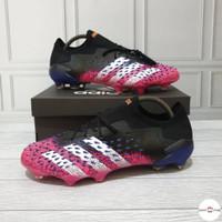Sepatu Bola Adidas Predator Freak 1 Low SG Pink Black Premium Original