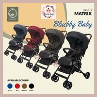Stroller Baby Elle Kereta Dorong Bayi BabyElle S-515 Matrix Bisa Gojek - Biru