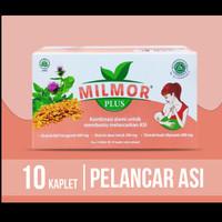 Milmor Plus (Paket 2 Blister @10 Kaplet) Pelancar ASI