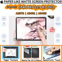 iPad Pro 12.9 2021 5th Gen Paper Like Antigores Anti Glare Minyak Doff