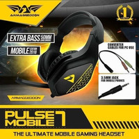 Headset Gaming Armageddon Pulse 7 Mobile