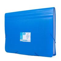 BANTEX Expanding File Ukuran A4 (12 Pockets) Termurah - Biru