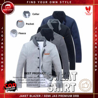 Jaket Blazer Semi Jas Pria Outerwear Keren Original DRB - Sweat Shirt
