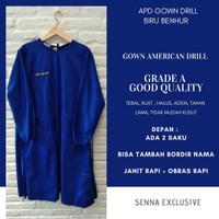 APD Gown Drill Special Order Rumah Sakit Klinik