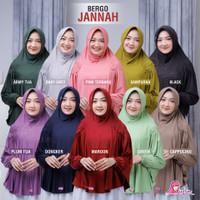 BERGO JANNAH MIULAN | Jilbab Syar'i Jumbo | Jilbab Ada Lengan / Tangan