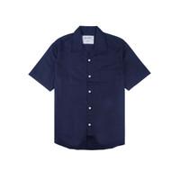 Reclays Kemeja Pria Shirt HEARD Biru Navy | Navy