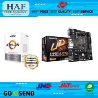 Processor AMD Athlon 3000G + Gigabyte GA-A320M-S2H (PAKETAN)
