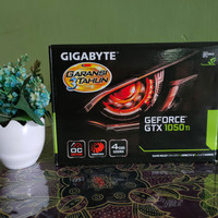VGA Card Gigabyte GeForce GTX 1050 Ti 4GB DDR5 Dual Fan