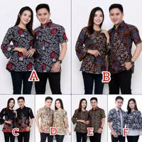 Baju Seragam Batik M L Xl Xxl - Batik Couple Ori Ndoro Jowi Dnt