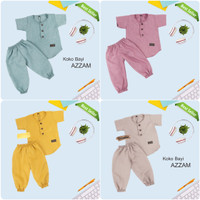 Jumpsuit Koko Bayi Premium / Setelan Bayi Koko Azam / Baju Bayi