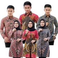 Size S M L Xl Xxl Baju Seragam Batik - Batik Couple Ori Ndoro Jowi Dnt