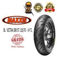 Ban luar motor matic 120/70-14 MAXXIS VICTRA S98 ST tbl, FREE cop tbl