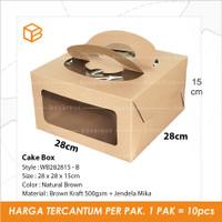 Dus Kue Cake Box Mika Packaging Kemasan | WB282815