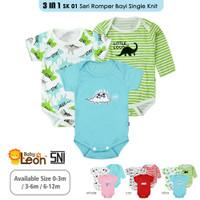 3in1 Jumper Bayi Jumsuit Bayi SERI-SK01 Baby Sleepsuit Baju Bayi