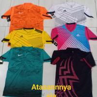 Baju jersey kaos bola futsal dan volly atasannya ja
