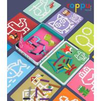 Roppu Creative Jigsaw Puzzle / Mainan Kreasi Puzzle Anak
