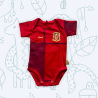 Baju Kaos Bola Bayi Anak Perempuan Laki Lucu I Jumper SPANYOL HOME