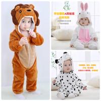 Baju piyama kostum anak bayi onesie animal hewan lucu import 0T-5T
