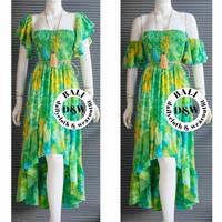 Longdress pantai bali /dress tie dye mermaid/ dres bali /baju bali - Foto display