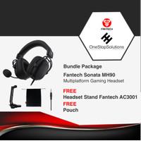 Fantech MH90 Sonata Gaming Headset / Fantech MH 90 Ori Garansi Resmi - Free HS Stand