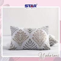 Banta tidur ukuran 50x70 sarung+bantal motif maharani