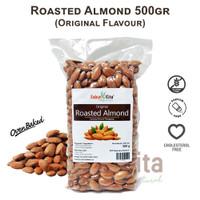 Kacang Almond Panggang 500gr (Roasted Almond)